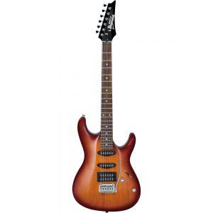 Guitare électrique Ibanez GSA60 Brown Sunburst - FOTELEC