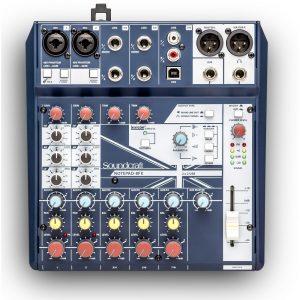 Table de mixage Soundcraft NOTEPAD 8FX - FOTELEC