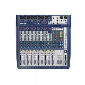 Table de mixage Soundcraft SIGNATURE 12 - FOTELEC