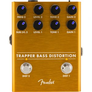Pédale d'effets Fender Trapper Bass Distortion - FOTELEC